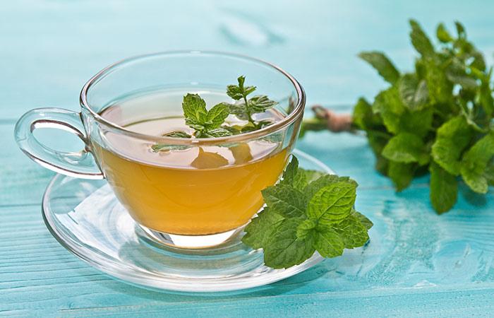 Mint tea for Headache in Hindi