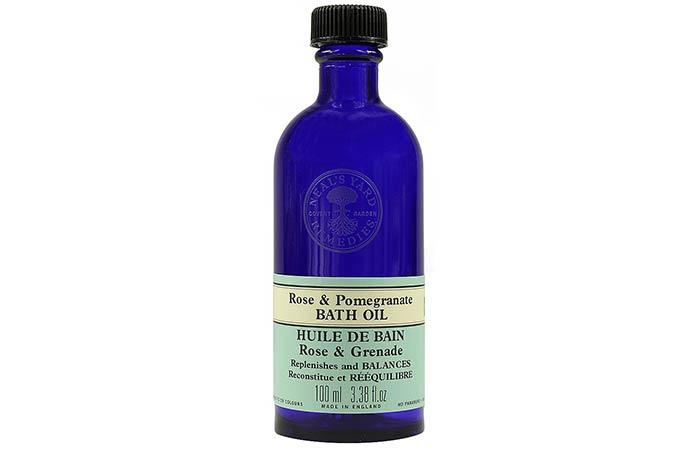 Neals Yard Remedies Rose & Pomegranate Bath Oil