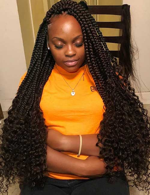 Open Ends Box Braids