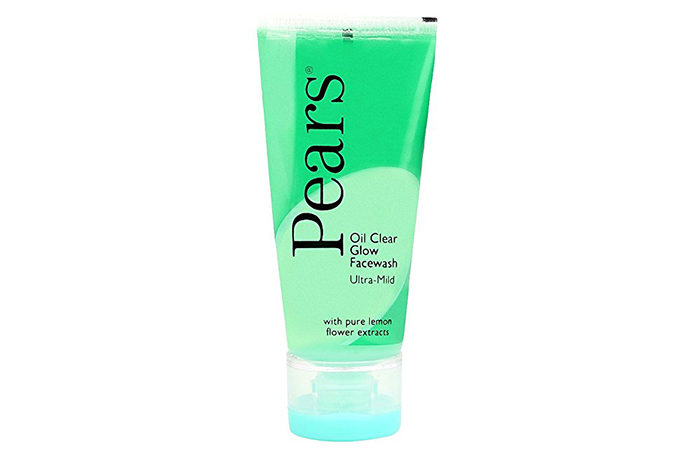 Pearls oil clear glow ultra mild facialwash in Hindi