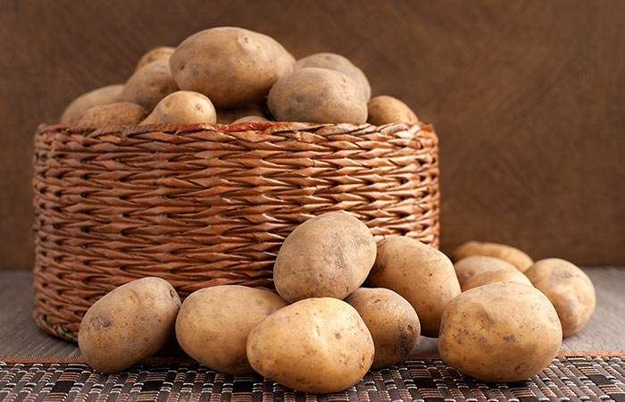 Potato for Fair skin in hindi