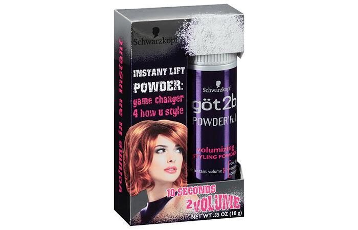 Schwarzkopf Got2b Powder'ful Volumizing Styling Powder
