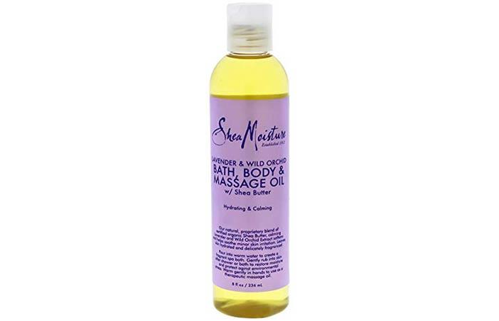 Shea Moisture Lavender And Wild Orchid Bath, Body & Massage Oil