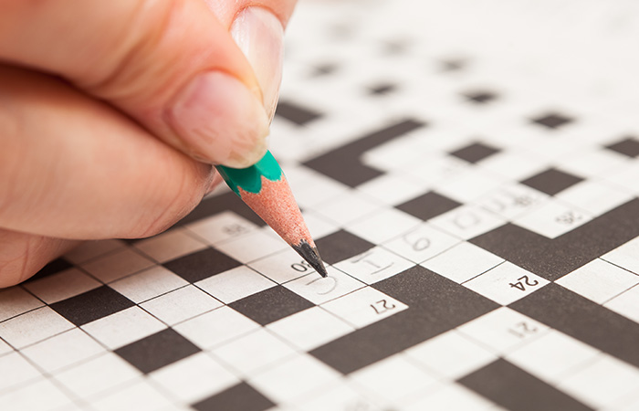 Solving Crosswords Is The Best Exercises For Your Brain