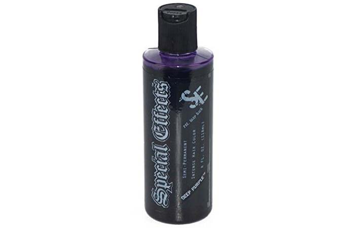 Special Effects Semi-Permanent Intense Hair Color – Deep Purple