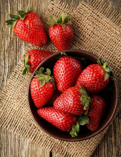 Strawberries – PRAL Score -2.2