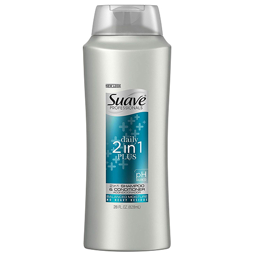Suave Professionals 2 in 1 Plus pH balanced Shampoo & Conditioner