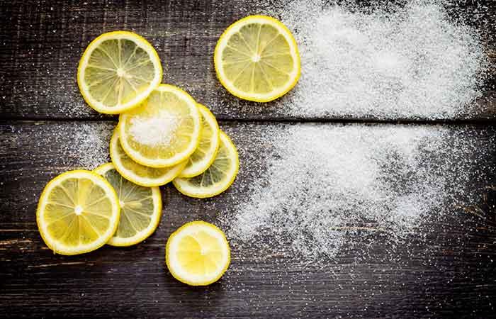 Sugar And Lemon Juice