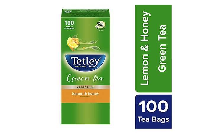 Tetley Green Tea Lemon and Honey