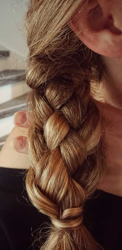 The 5-Strand Side Braid - Side Braid