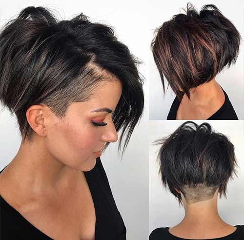 The Messy Pixie Undercut