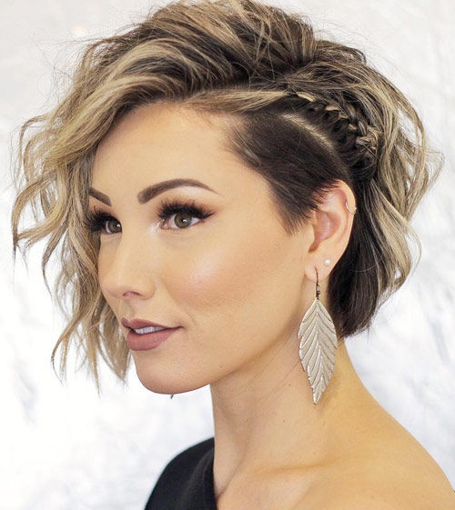 The Undercut Side Braid - Side Braid