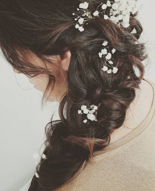 The Wedding Side Braid - Side Braid