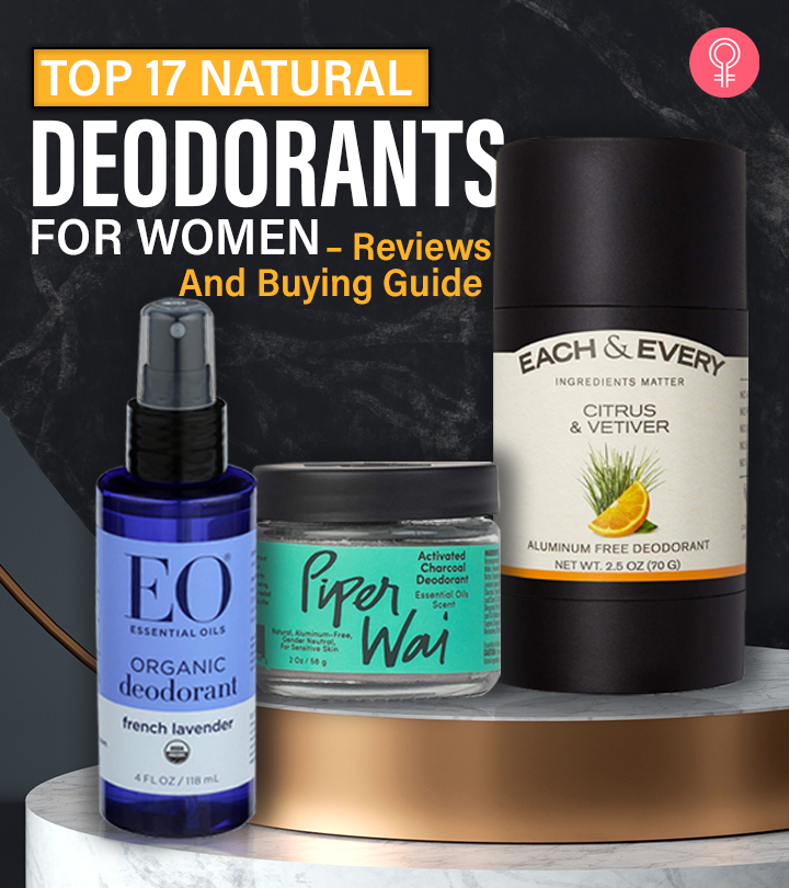Top 17 Natural Deodorants For Women (2020) – Reviews And Buying Guide