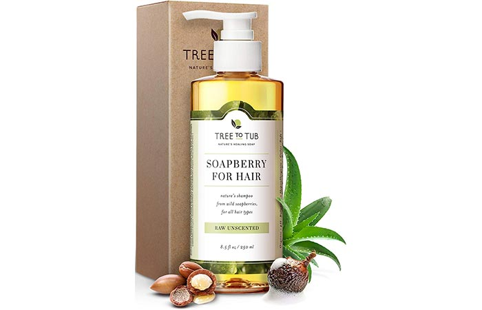 Tree To Tub Raw Unscented Soapberry For Hair