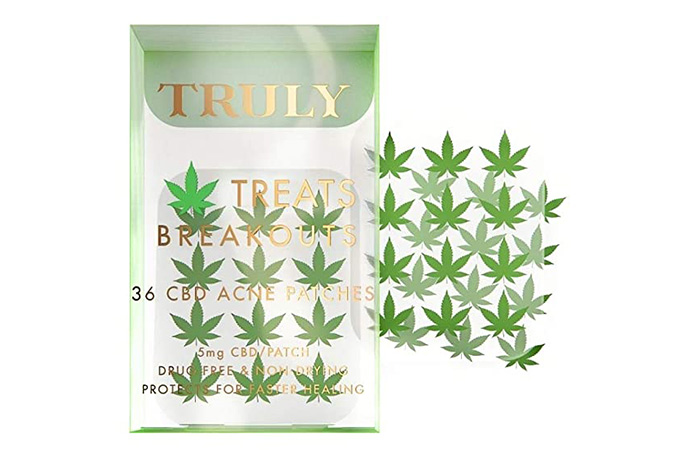 Truly CBD Acne Patches