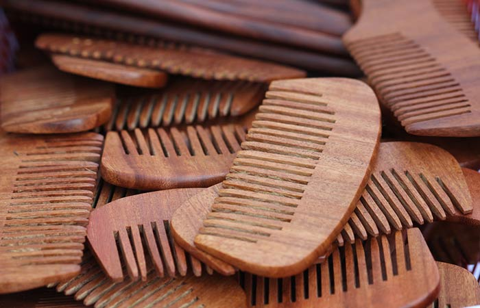 Wooden Hair BrushComb