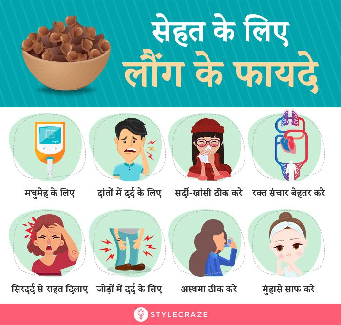 लौंग-के-फायदे,-उपयोग-और-नुकसान-–-Clove-(Laung)-Benefits,-Uses-and-Side-Effects-in-Hindi