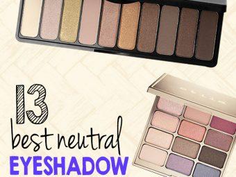 13 Best Neutral Eyeshadow Palettes