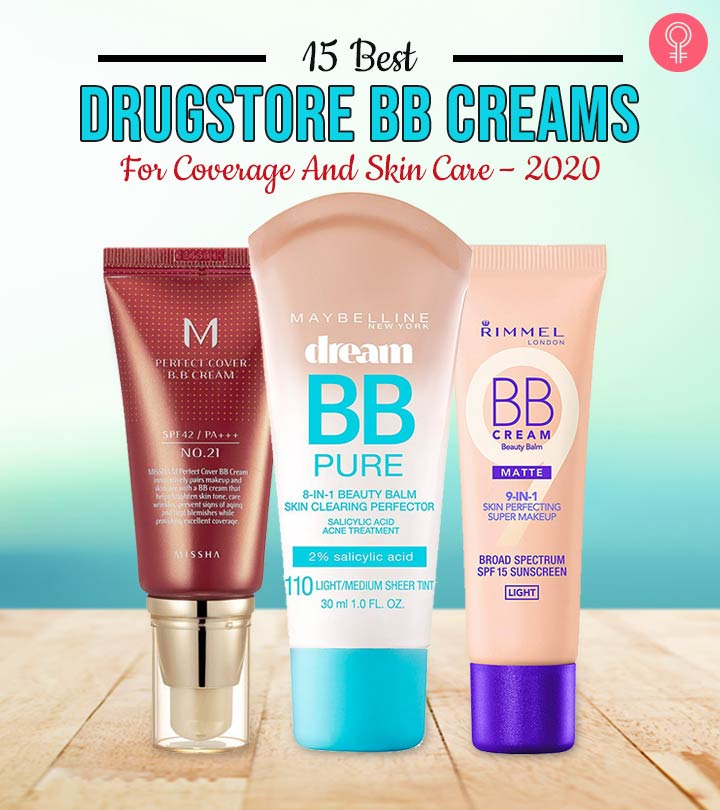 15 Best Drugstore Bb Creams For Coverage And Skin Care 2020