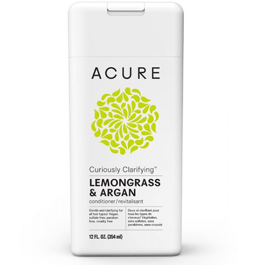 Acure Curiously Clarifying Lemongrass & Argan Oil Conditioner