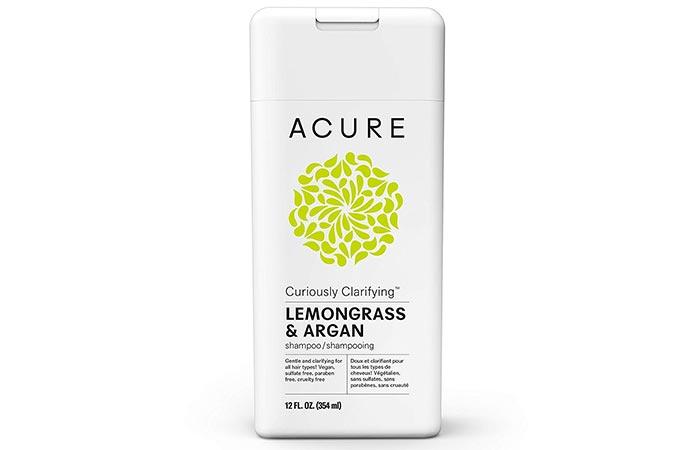 Acure Seriously Clarifying Lemongrass & Argan Shampoo