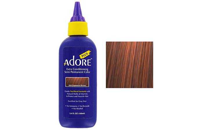 Adore Plus Extra Conditioning Semi-Permanent Hair Color