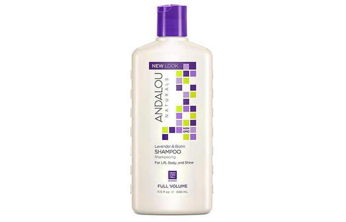 Andalou Naturals Lavender & Biotin Shampoo