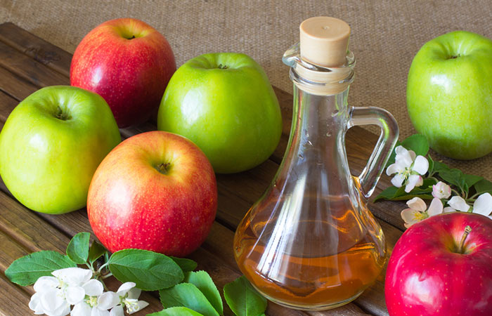 Apple cider vinegar for Dark Neck in Hindi