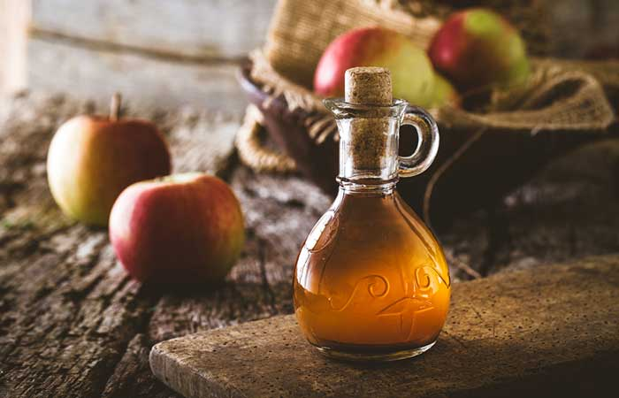Pimple Marks Ke Liye Apple Vinegar