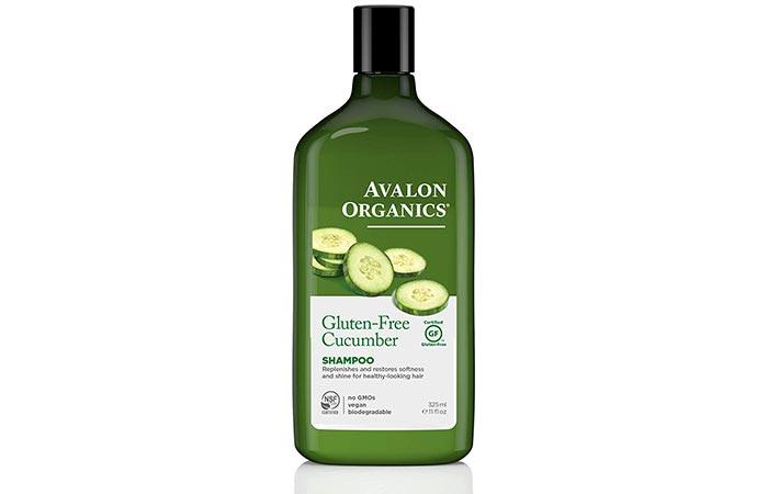 Avalon Organic Gluten-Free Cucumber Shampoo