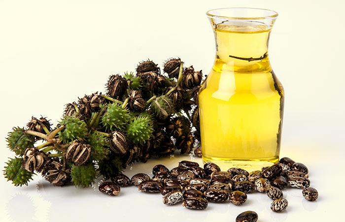 Safed Baalo ke Liye Castor Aur mustard oil