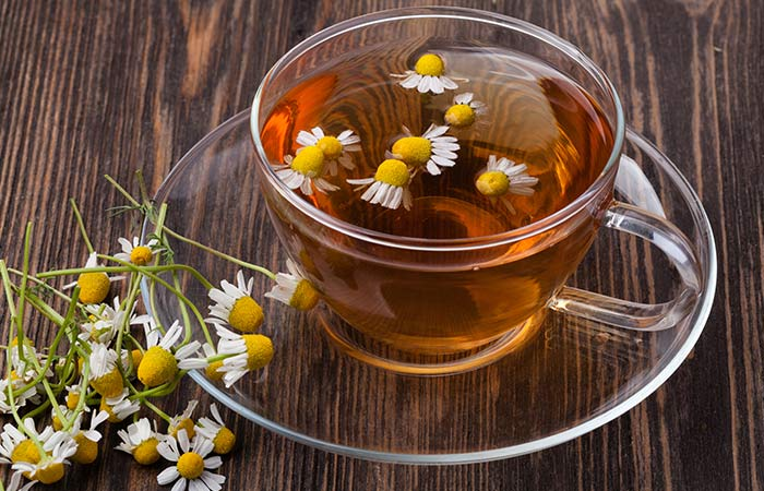 Chamomile tea for Stomach Pain in Hindi