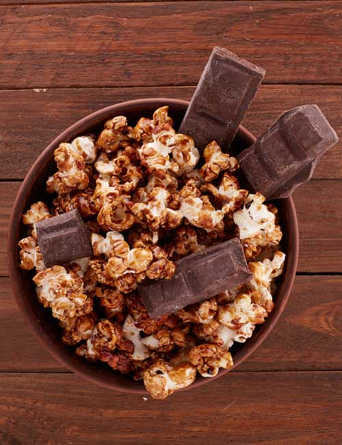 Chocolate And Popcorn