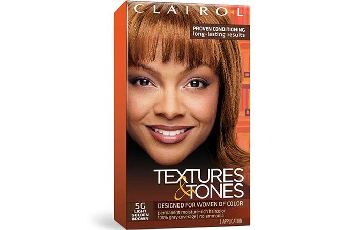 Clairol Textures & Tones Permanent Moisture-Rich Hair Color