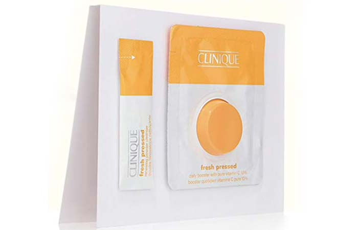 Clinique Fresh Pressed Renewing Powder With Pure Vitamin C