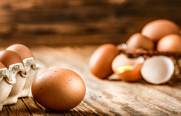 Egg for Hair Care in Hindi