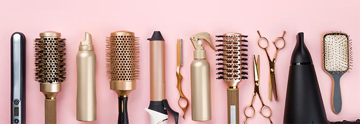 Did you know that there is a particular type of brush suited for each hair type