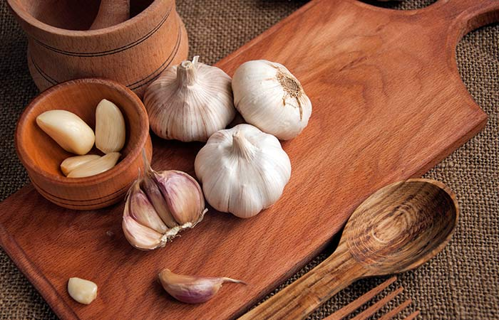Garlic for Cold Sores in Hindi