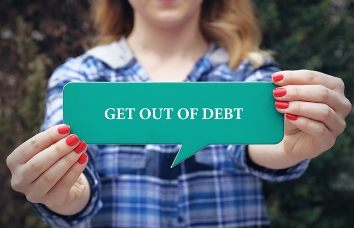 Get rid of your debt