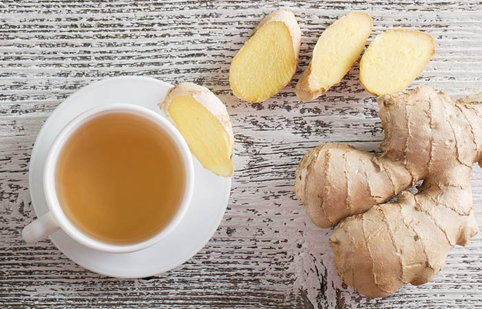 Ginger for Sore Throat in Hindi
