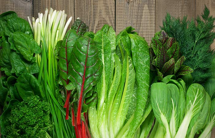Green leafy vegetables for High BP in Hindi
