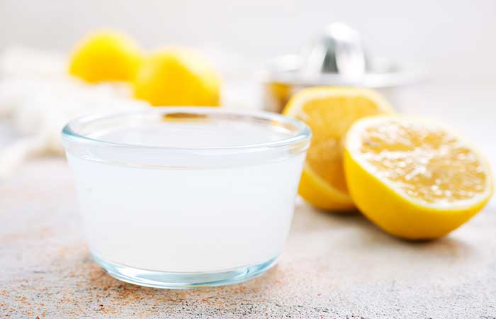 Pimple Marks Ke Liye Lemon Juice