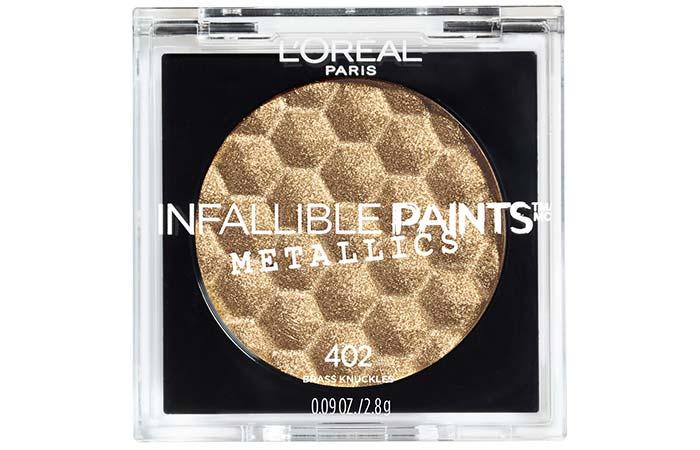 L'Oreal Paris Infallible Paints Metallic Eyeshadow