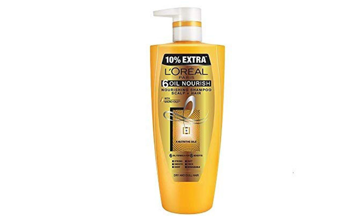 L'Oreal Paris 6 Oil Nourishing Shampoo