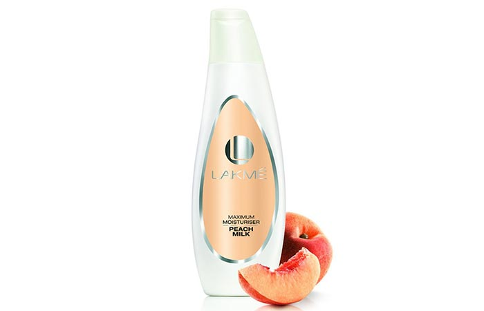 Lakme Maximum Moisturiser Peach Milk