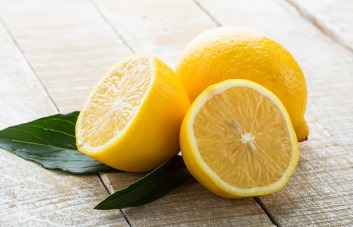 Lemon for Skin Pores in Hindi