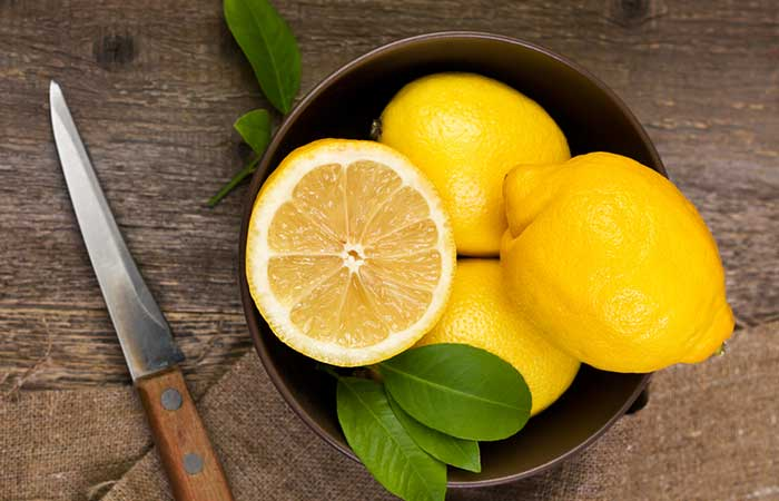 Lemon juice for Underarm Odor in Hindi
