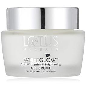 Lotus Herbals Whiteglow Skin Whitening & Brightening Gel Crème SPF 25 PA+++