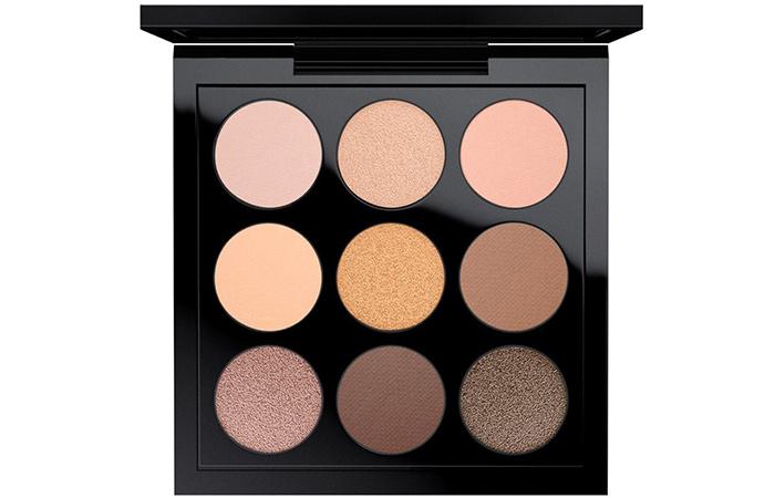M.A.C Amber Times Nine Eyeshadow Palette - Neutral Eyeshadow Palettes